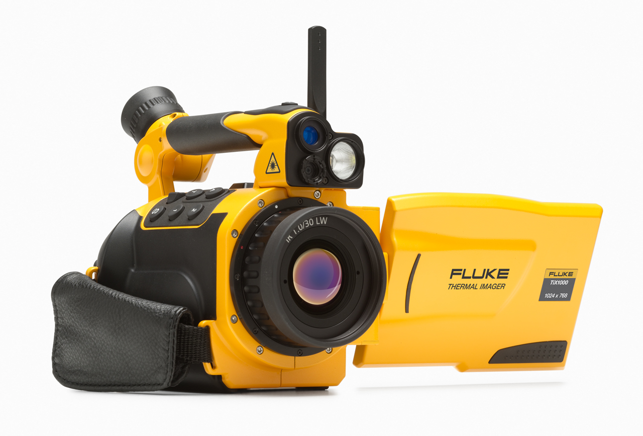 FLUKE TiX1000 9Hz-NFC - Thermal Imager; 640×480; Non-FC; 9 Hz