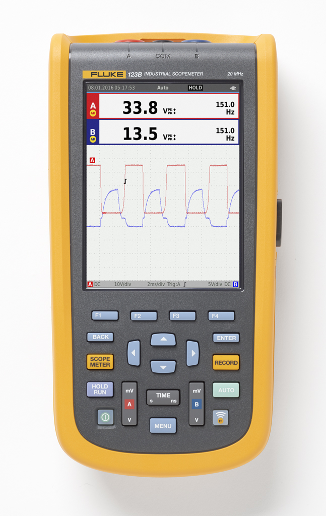 FLUKE 123B-EU - Industrial ScopeMeter (20 MHz)