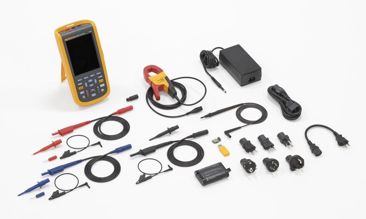 FLUKE 125B-EU-S - Industrial ScopeMeter (40 MHz) + SCC120