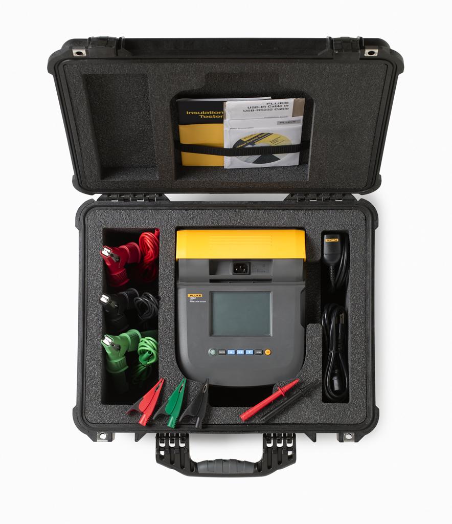 - 5kV Insulation Resistance Tester Kit; 250V – 5000V
