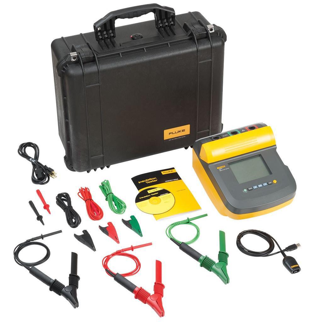 5kV Insulation Resistance Tester Kit; 250V - 5000V