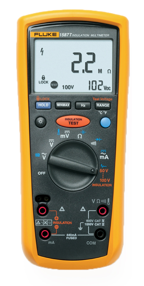 FLUKE 1587T - Insulation Multimeter (Telecom)