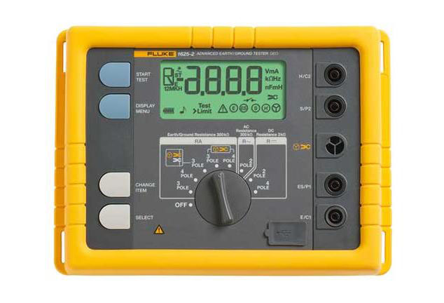 FLUKE 1625-2 - Advanced GEO Earth Ground Tester
