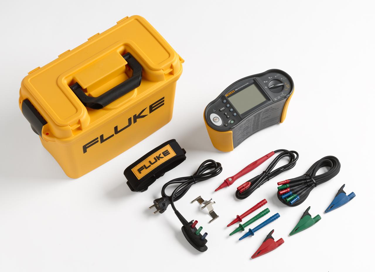FLUKE 1662 UK - Installation Tester; W/Phase sequence