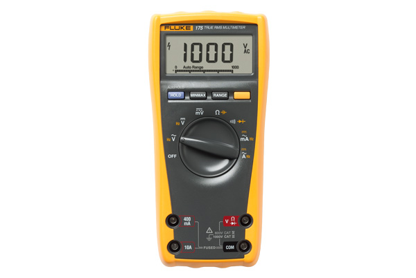 FLUKE 175 - True RMS Multimeter 1000V – 10A