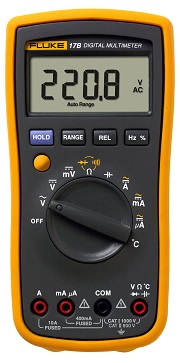 FLUKE 17B+ - Digital Multimeter  1000V AC/DC