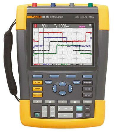 FLUKE 190-504 - ScopeMeter 4 Channel 500MHz Color UNI