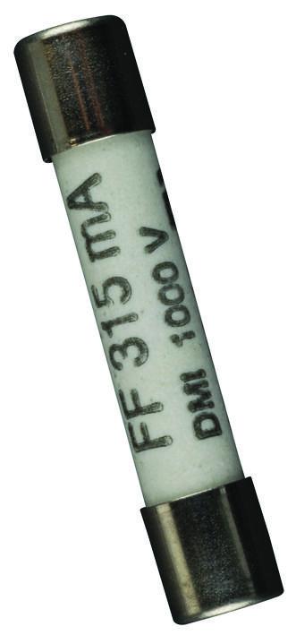 FLUKE 2279339 - Fuse; A:315mA (f); V:1000V; IR:10kA; 6.35×32 mm