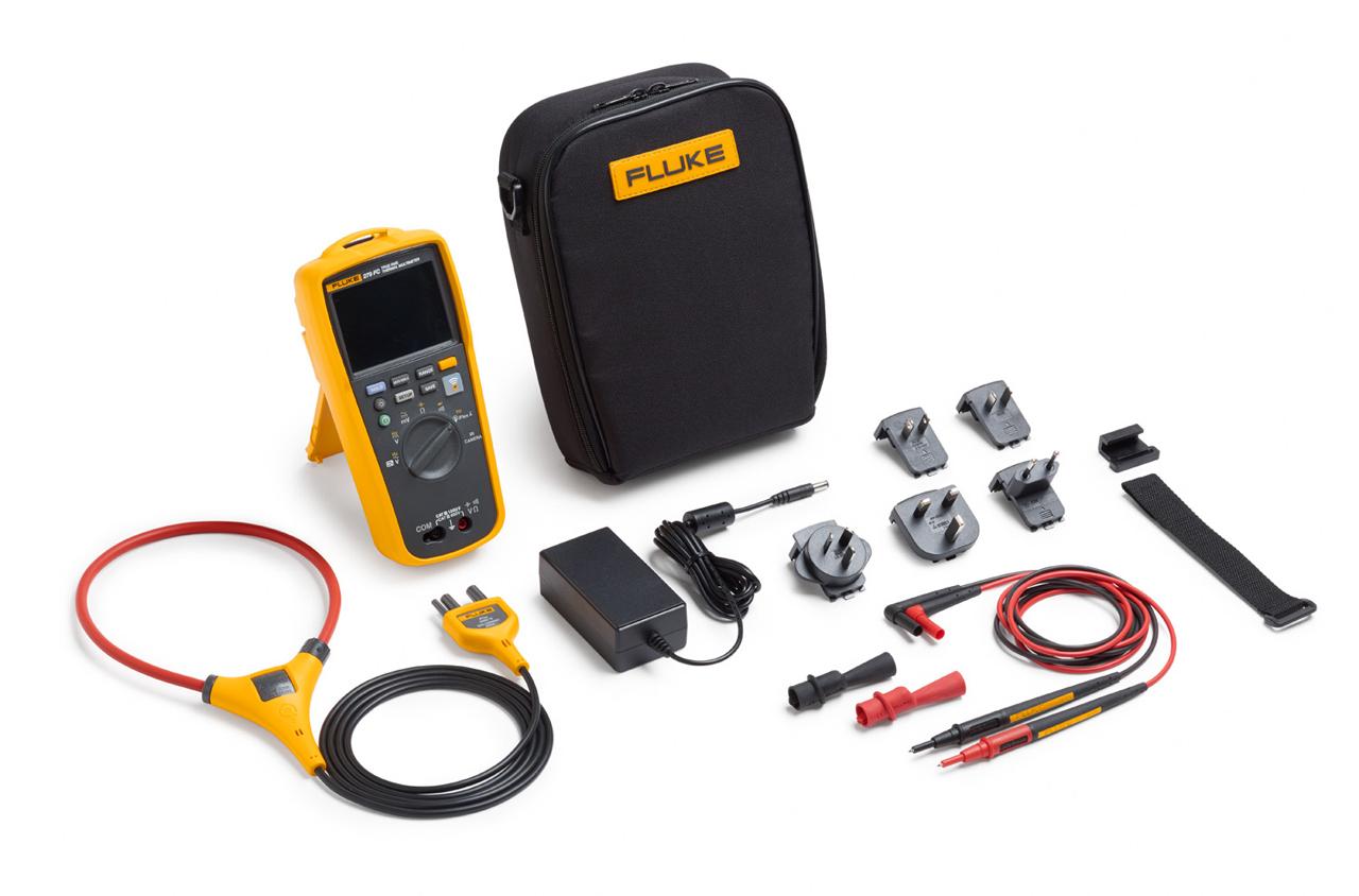 - Full-featured Digital Multimeter w/Iflex