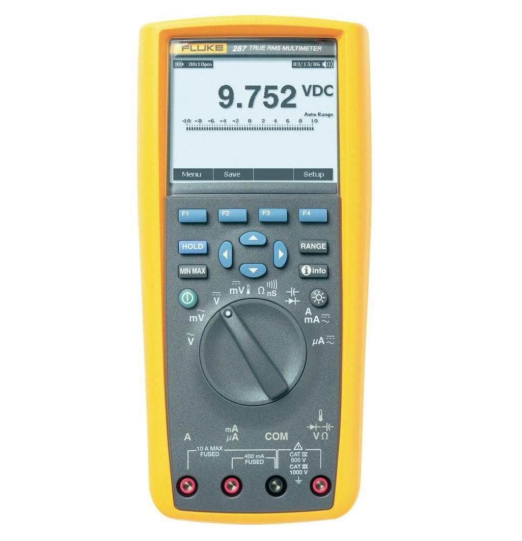 FLUKE 287-EUR - True RMS Electronics Logging Multimeter with TrendCapture
