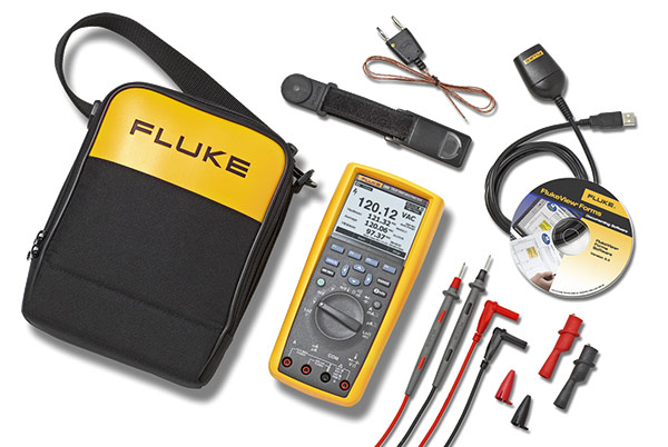 FLUKE 289-FVF-EUR - Industrial Logging Multimeter and Soft Combo Kit