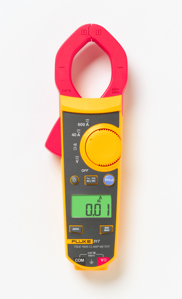 FLUKE 317 - True RMS Clamp Meter 40A