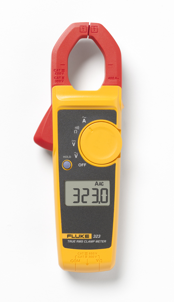 FLUKE 323 - True RMS Clamp Meter 400A/600V
