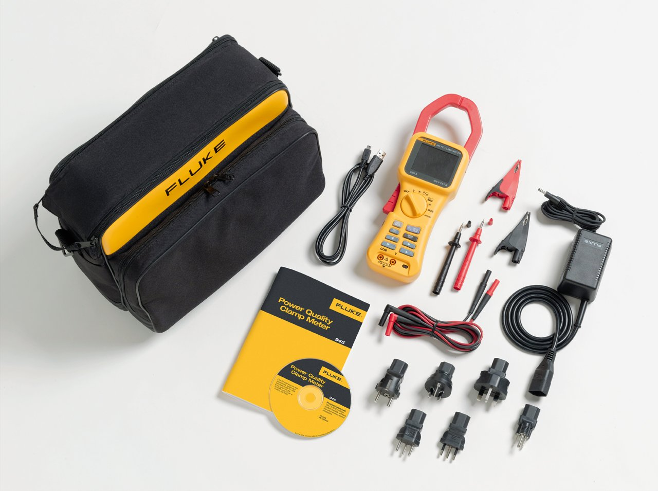 FLUKE 345 - Power Quality Clamp Meter