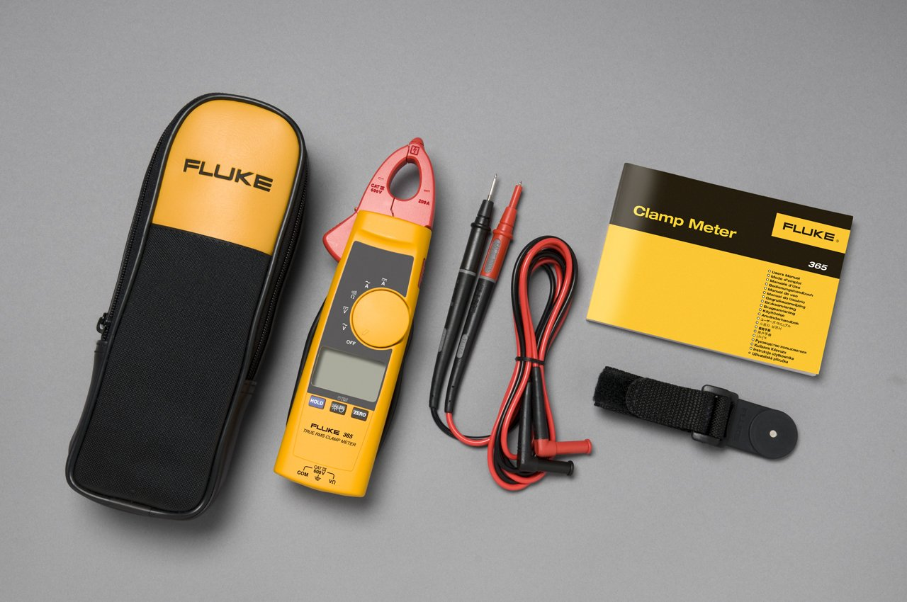 FLUKE 365 - Detachable Jaw True RMS AC/DC Clamp Meter