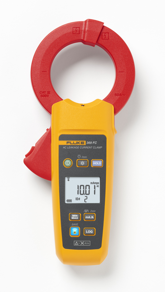 FLUKE 369FC - Leakage Current Clamp Meter 60MM Jaw – 60A / FC
