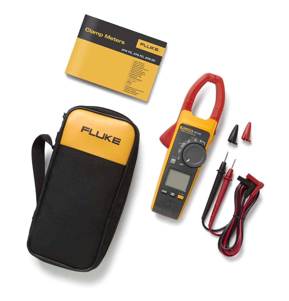 FLUKE 374FC - True RMS Clamp Meter  600 A (1000V)