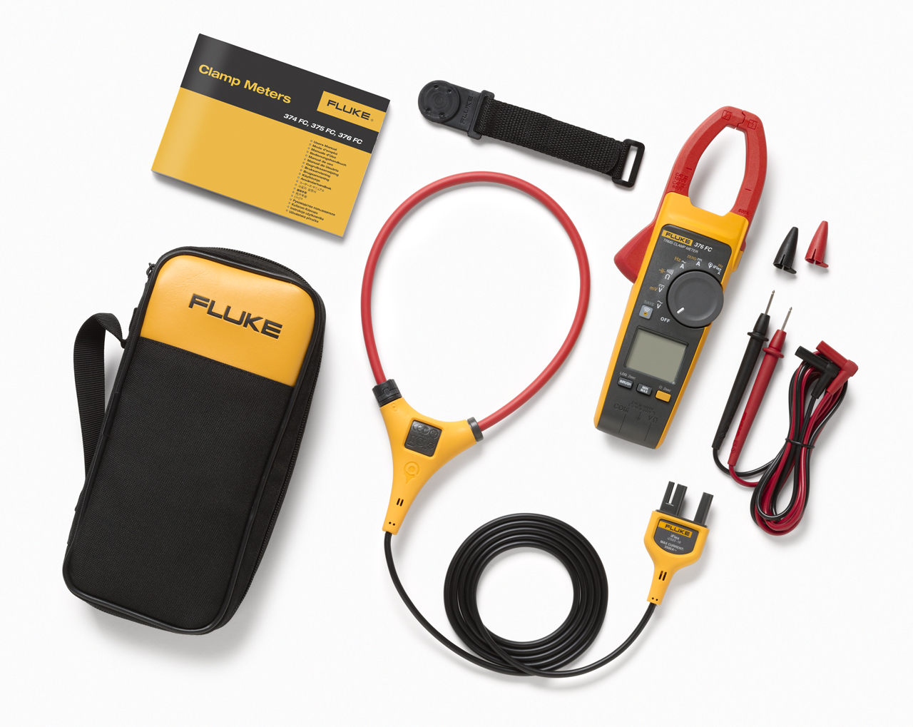FLUKE 376FC - True RMS AC/DC Clamp Meter with iFlex probe
