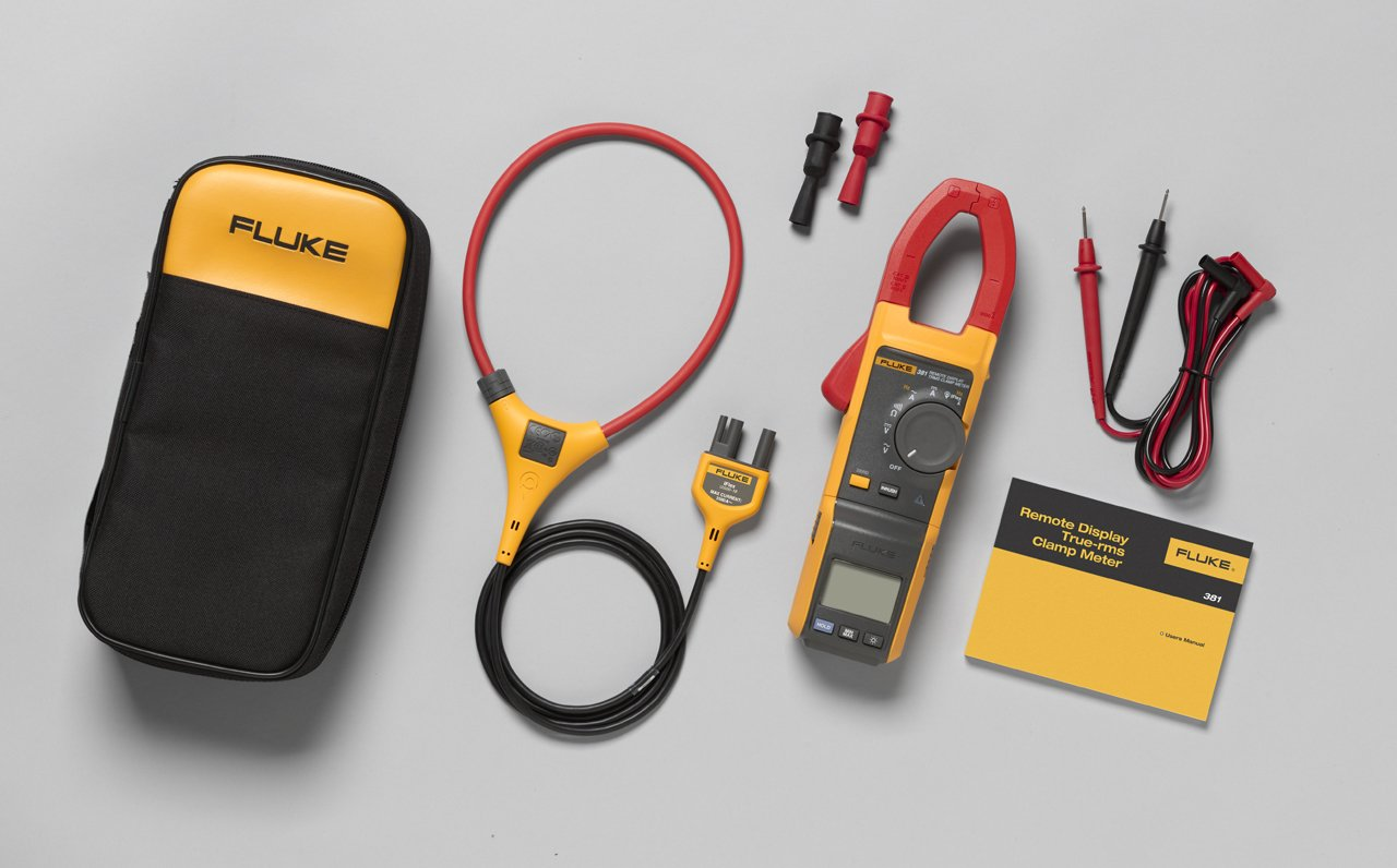 FLUKE 381 - Remote Display True RMS AC/DC Clamp Meter with iFlex