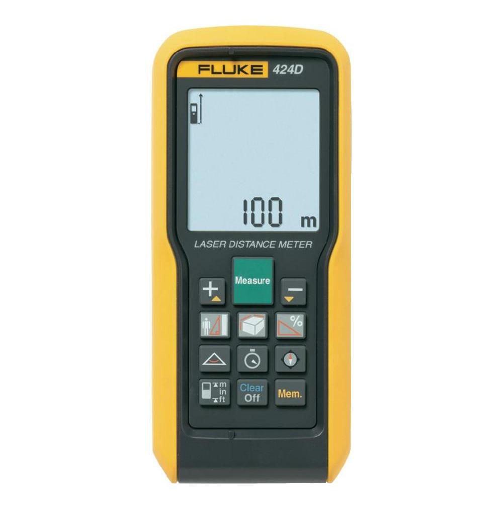 FLUKE 424D - Laser Distance Meter – 100m / 330ft