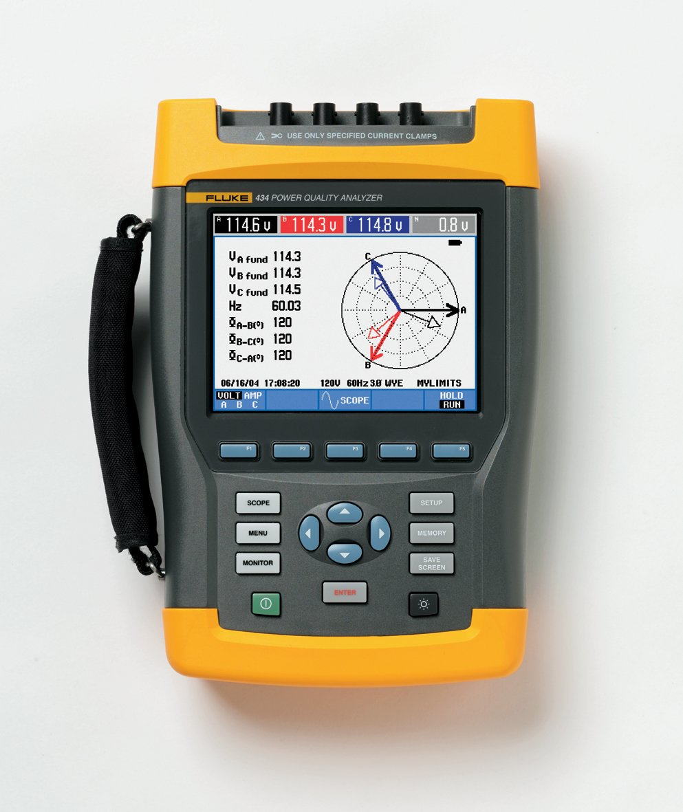 - Power Quality and energy analyzer