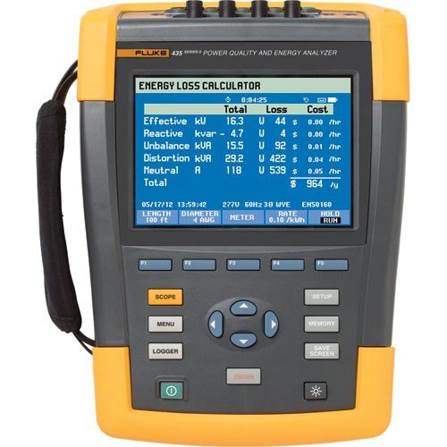 FLUKE 435-II-INTL - Advanced Power Quality and energy analyzer