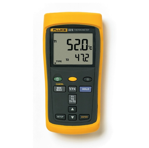 FLUKE 52 II - Dual Input Digital Thermometer 50Hz