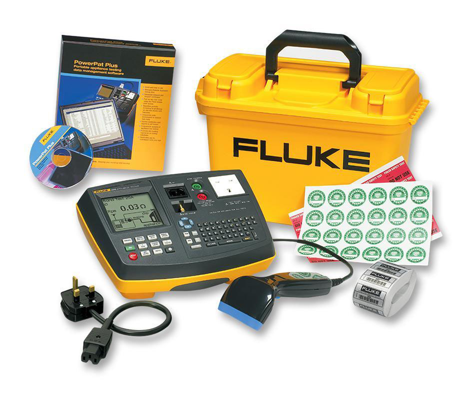 FLUKE 6500-2 UK Kit - Portable Appliance Tester Kit