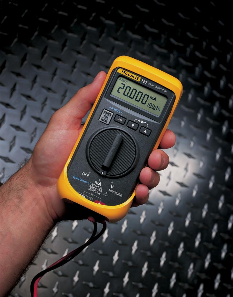 FLUKE 705 - Loop Calibrator; 28V Voltage; 24mA Current