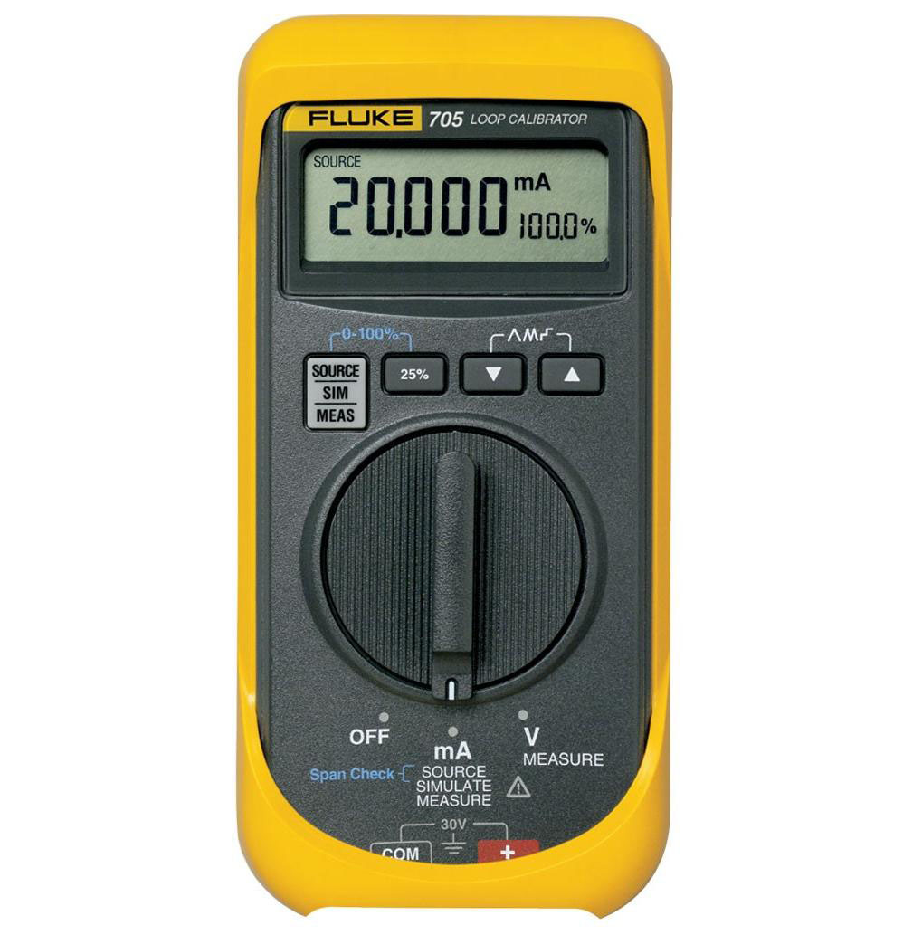FLUKE 705 - Loop Calibrator; 28V Voltage; 24mA Current