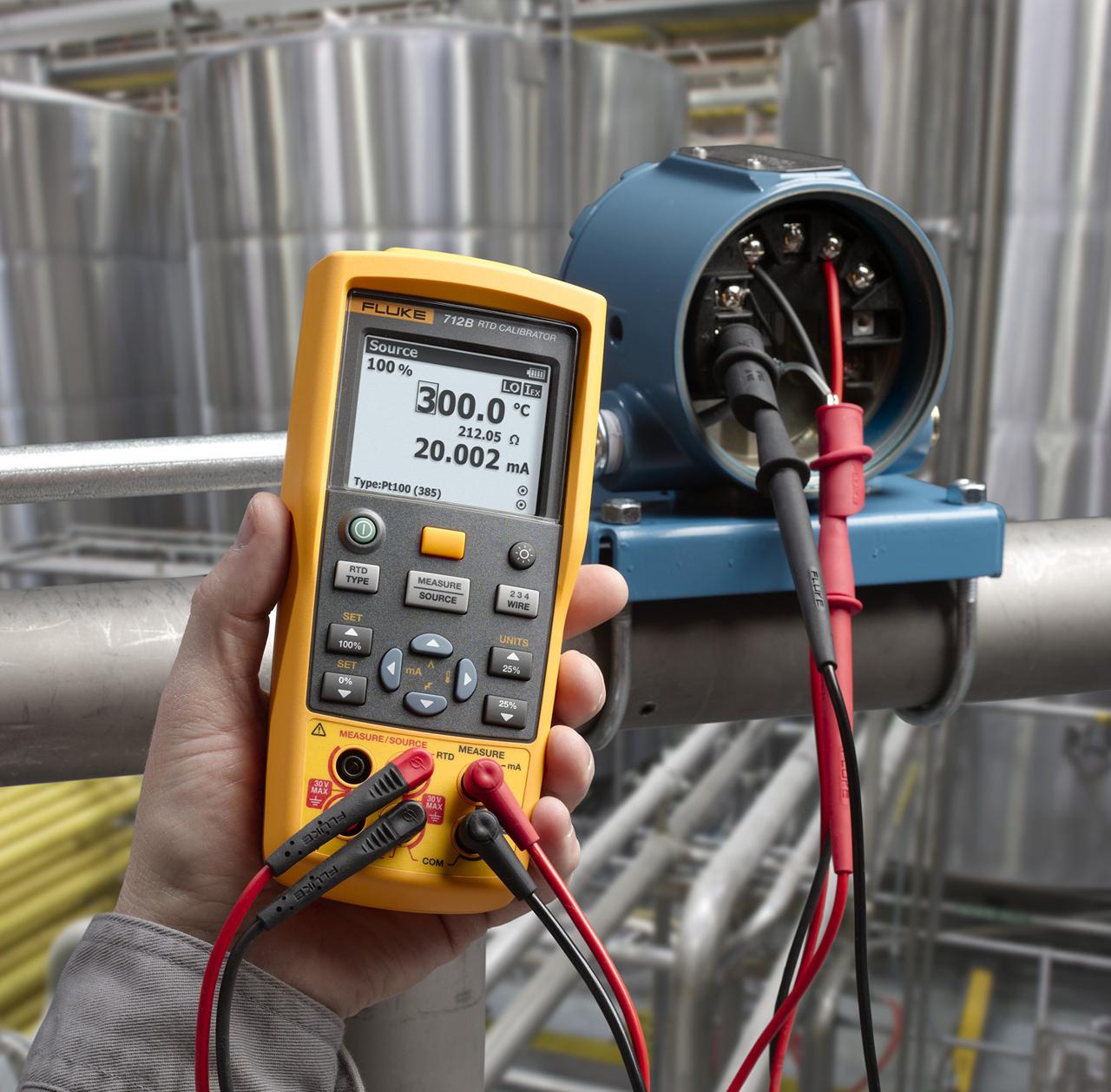 FLUKE 712B AR - RTD Temperature Calibrator
