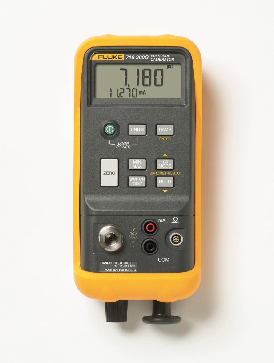 FLUKE 718 300G - Pressure Calibrator (20 bar)