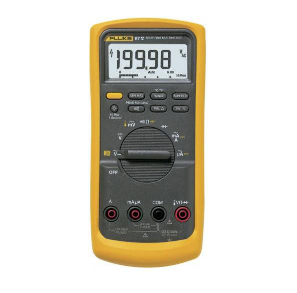 FLUKE 87-V-EUR - True RMS Industrial Multimeter
