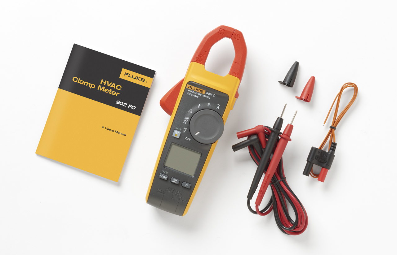 - TRMS HVAC Clamp Meter 600V