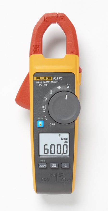 Fluke FC TRMS HVAC Clamp Meter in Dubai, UAE - 902 FC from AABTools