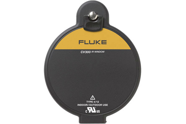 FLUKE CV300 - 75mm IR Windows; hand turn door latch