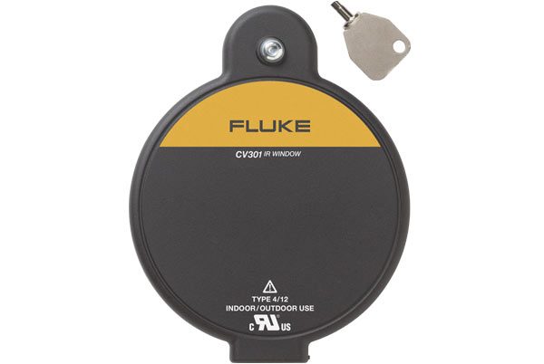 FLUKE CV301 - 75mm IR Windows; security turn door latch