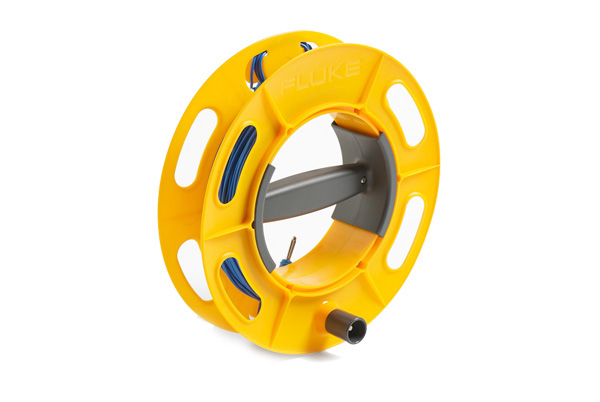 FLUKE Cable Reel 25M BL - 25M Blue; Ground/Earth Cable Reel; 25M Wire