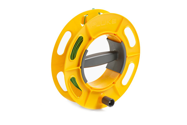 FLUKE Cable Reel 25M GR - 25M Green; Ground/Earth Cable Reel; 25M Wire