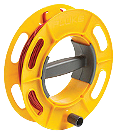 FLUKE Cable Reel 50M RD - 50M Red; Ground/Earth Cable Reel; 50M Wire