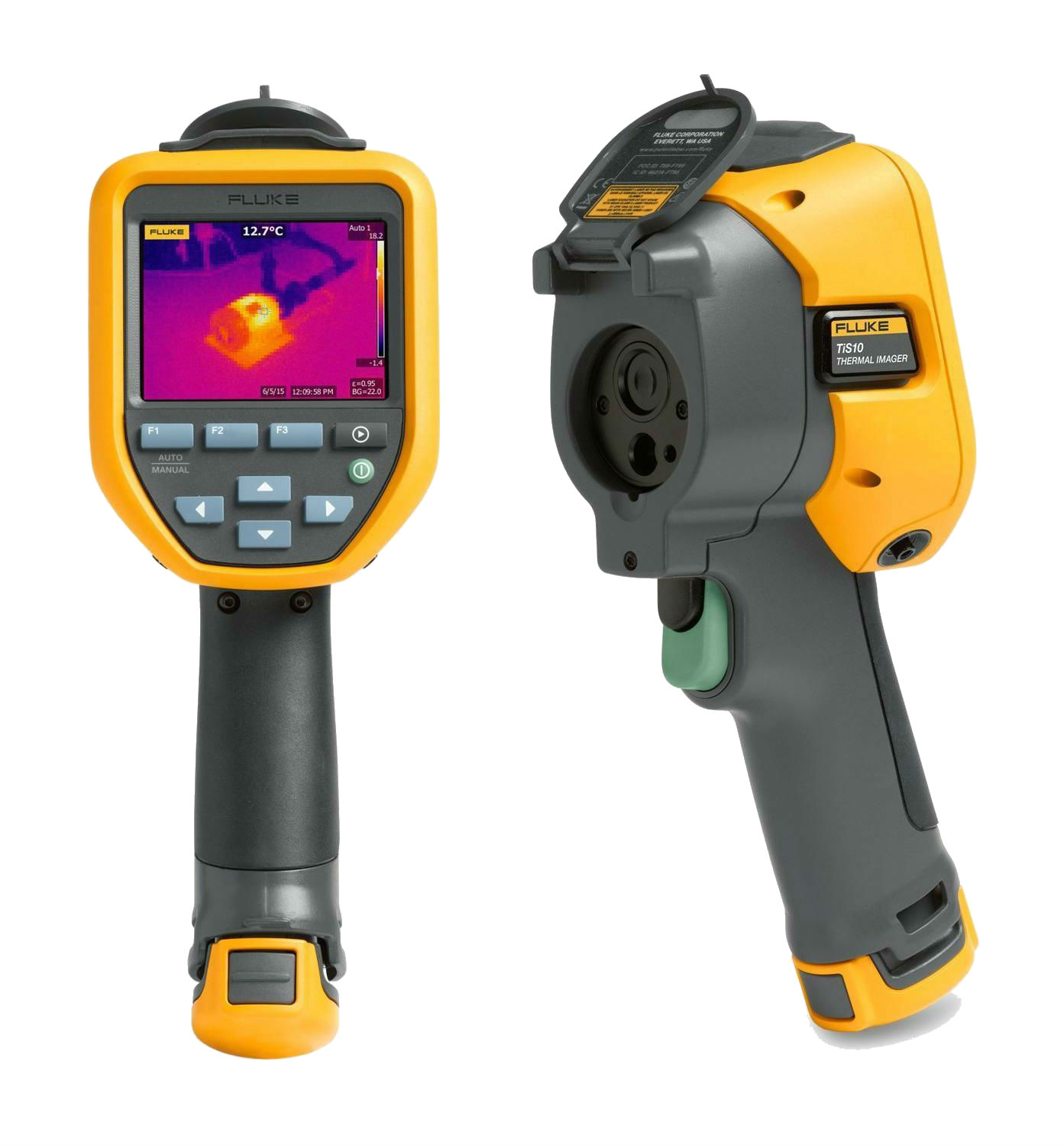 FLUKE TIS10 9HZ - Thermal imager- fixed focus – 4,800 Pixels