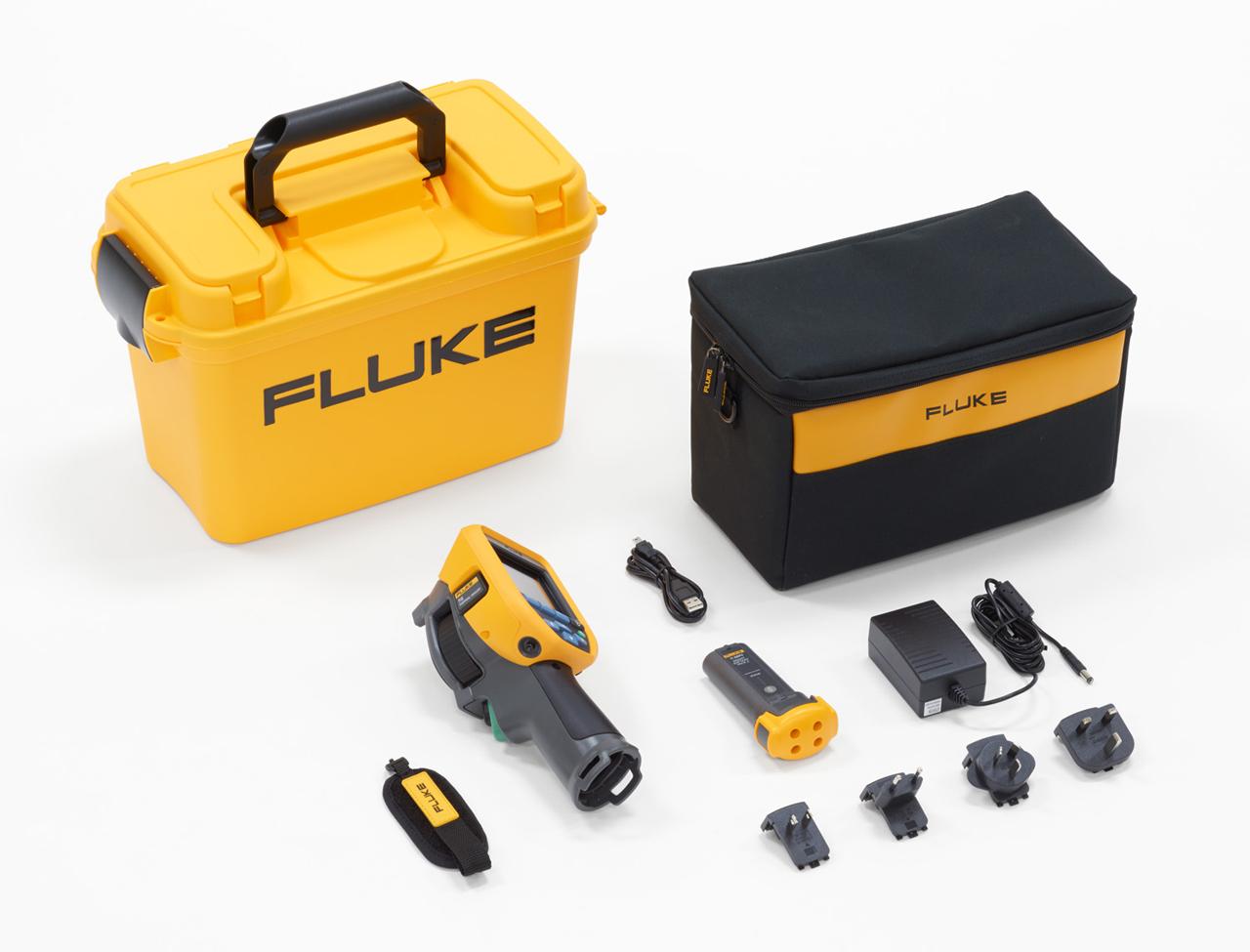 FLUKE TIS45 9Hz - Thermal Imager – Manual Focus (19,200 Pixels)