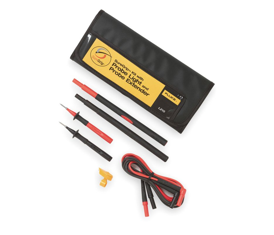 FLUKE L215 - SureGrip kit with probe light and probe extender