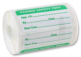 FLUKE PASS500S - Appliance Pass Labels (rectangular)