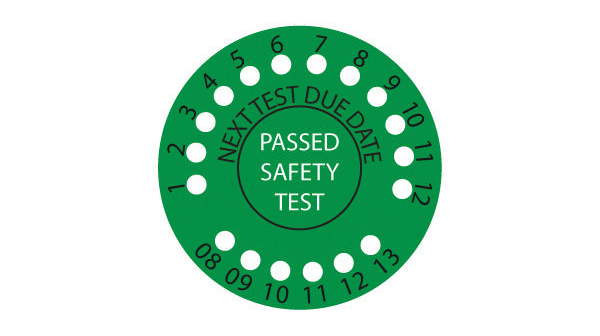 FLUKE PASS560R - Appliance Pass Labels (round)