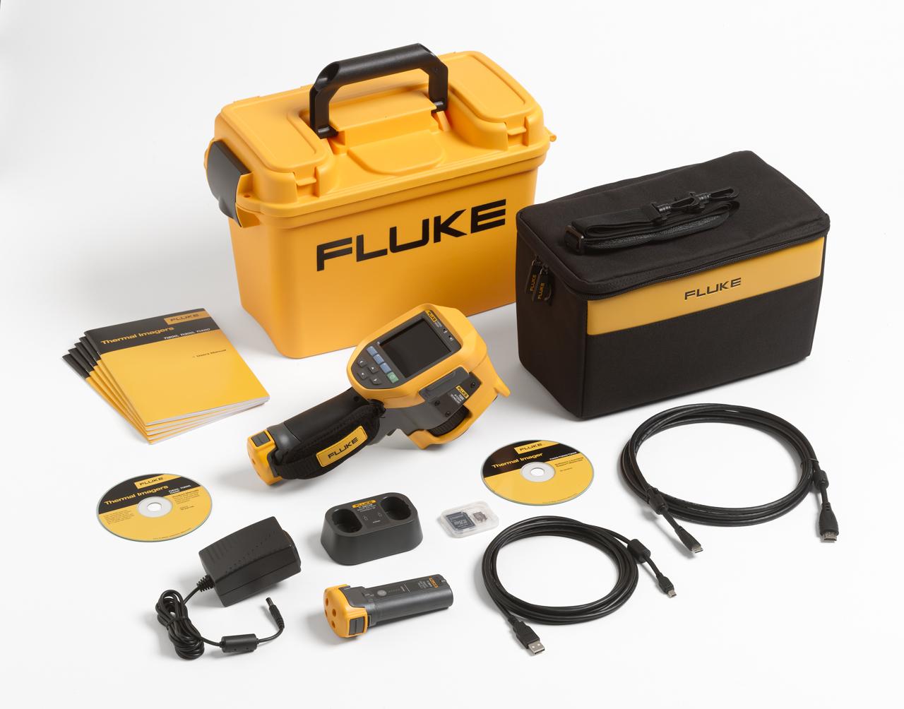 FLUKE Ti200 9Hz - Thermal Imager; 9Hz / 2.09 mRad / 200 x 150 pixels