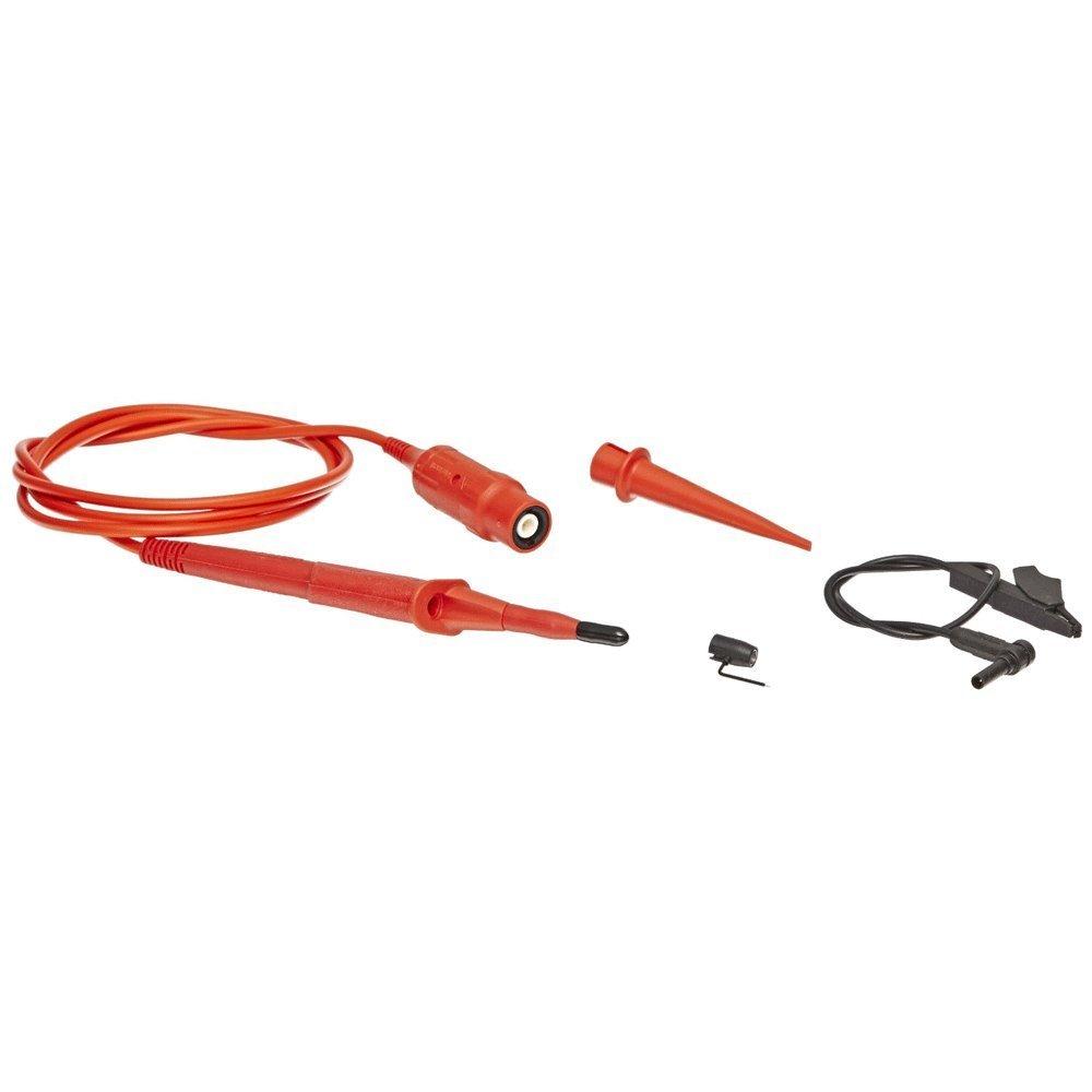 FLUKE VPS210-R - 10:1 Voltage Probe Set; 1 red; 200 MHz; 1.2m