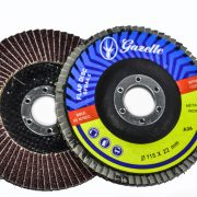 GAZELLE GFDZ45120G - Flap Disc 4.5in – 115mm x 120Grit Zircon