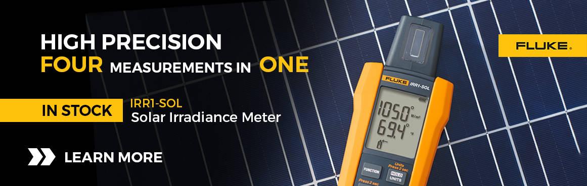Fluke Solar Irradiance Meter