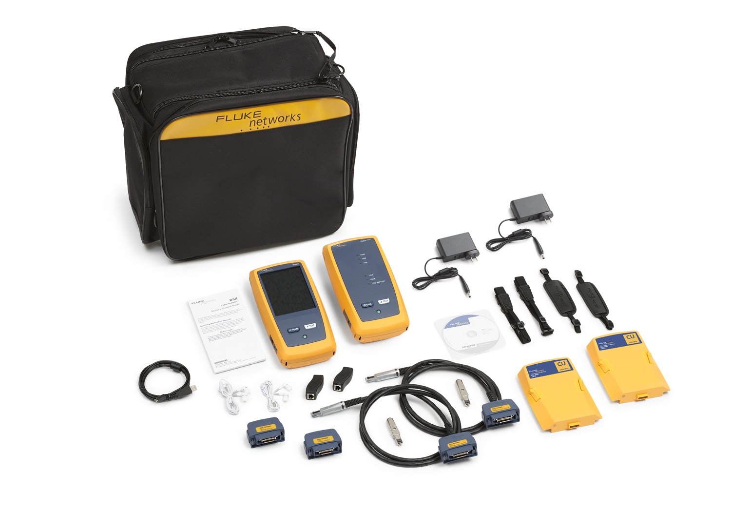 - 2 GHz DSX Cable Analyzer V2, with Wi-Fi